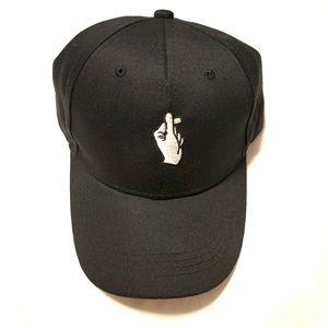 Finger Heart Adjustable Hat